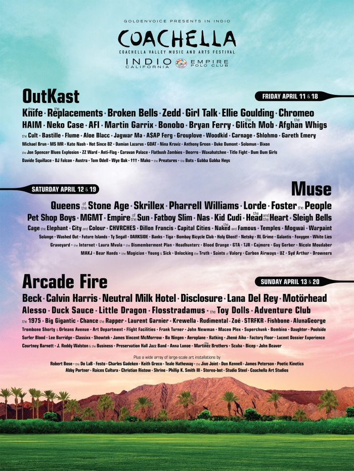 Coachella Line-up 2014