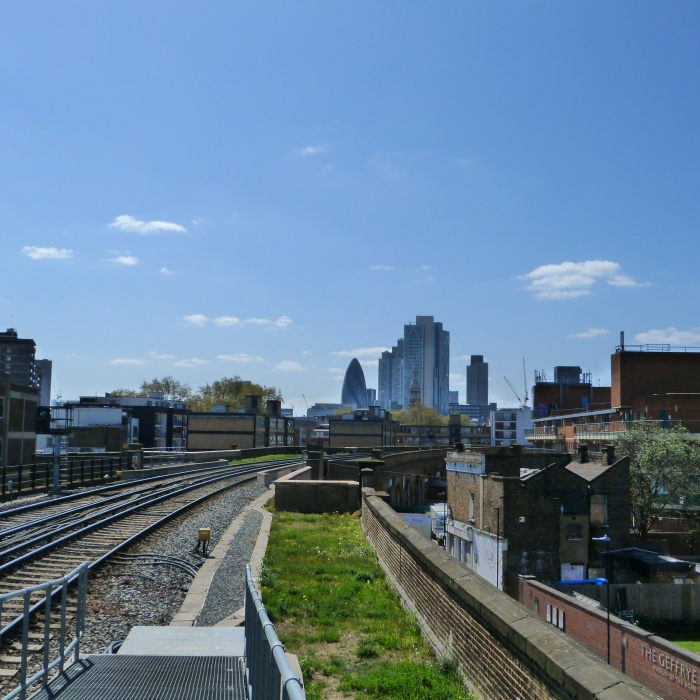City View from Hoxton Station