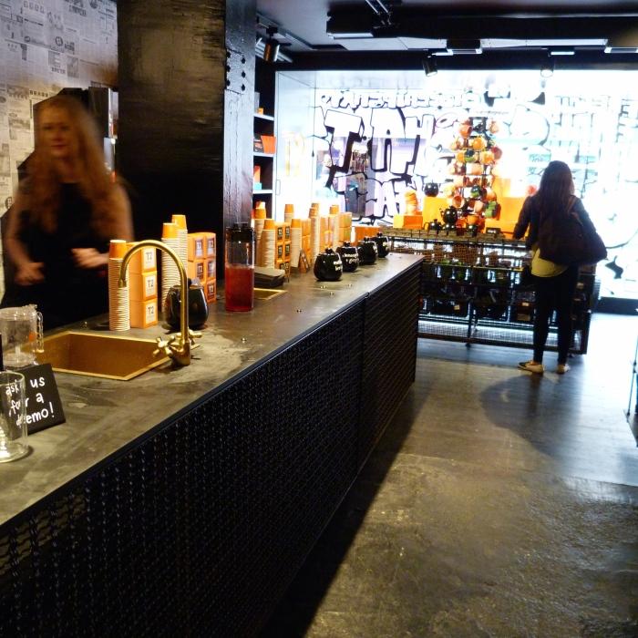 T2 Brew Bar