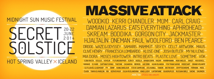 Secret Solstice 2014 Line-up