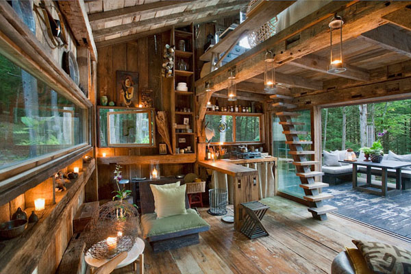 Yulan Cabin Interior, New York