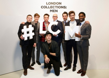Opening of LCM AW15 (Shaun James Cox, British Fashion Council)