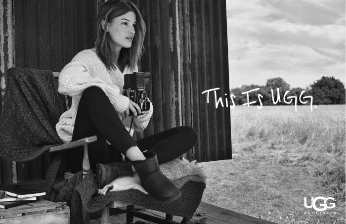 UGG Australia Hanneli Mustaparta #ThisIsUGG Campaign