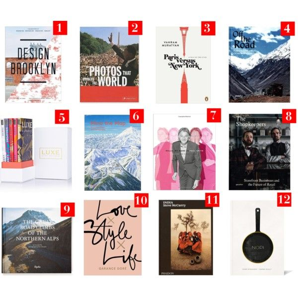Coffee Table Books Wishlist - Polyvore